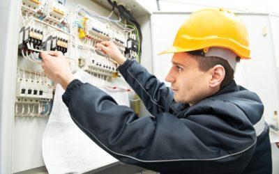 Работа на предприятии (электрик на стройку):