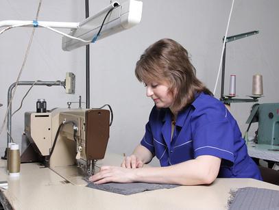 Робота на підприємстві (швія, оббивка мебелі):