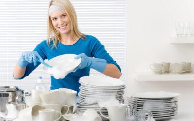 Робота на кухні (змивання посуду, прибирання):